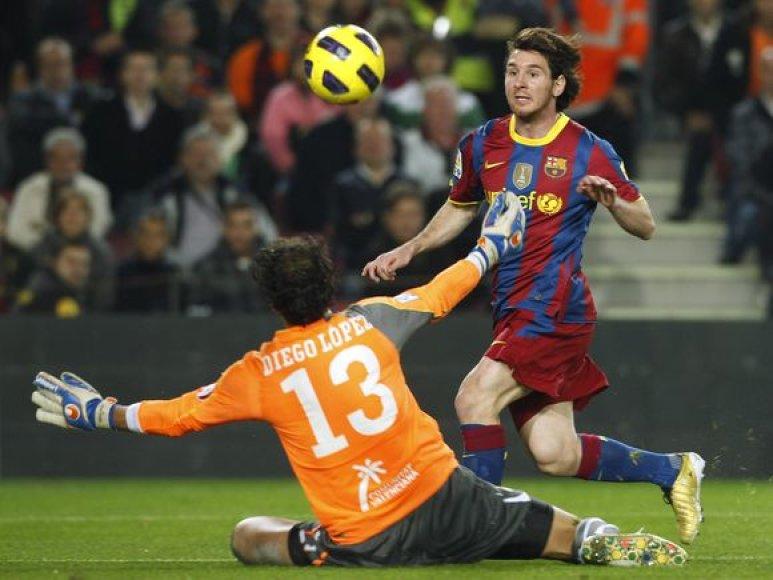 L.Messi mače pelnė du įvarčius
