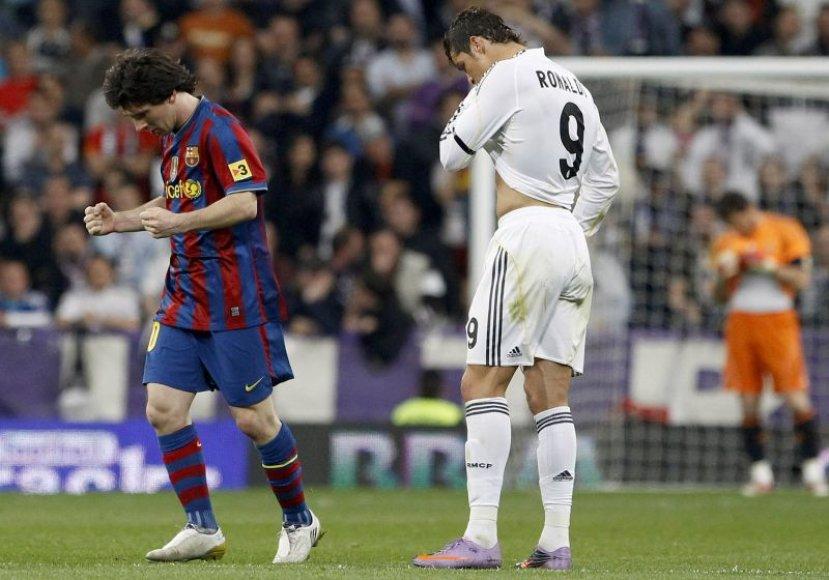 Paskutinės Ispanijos futbolo grandų rungtynės 2010 m. balandžio 10 d. baigėsi Barselonos futbolininkų pergale 2:0
