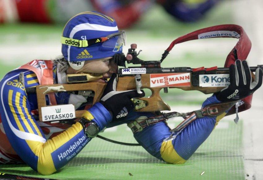 Anna Carin Zidek triumfavo pirmose sezono varžybose gimtinėje