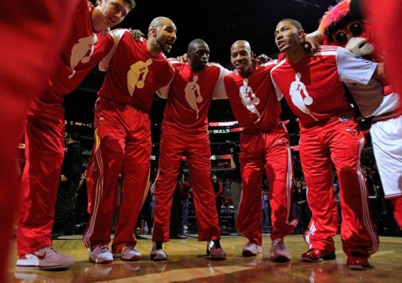 Čikagos krepšininkai Rytų konferencijoje užima ketvirtą vietą