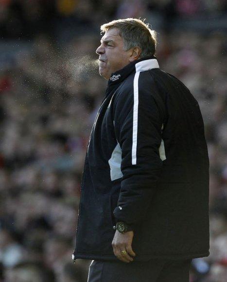 """Iš pareigų atleistas vyriausias """"Blackburn"""" treneris Samas Allardyce'as"""