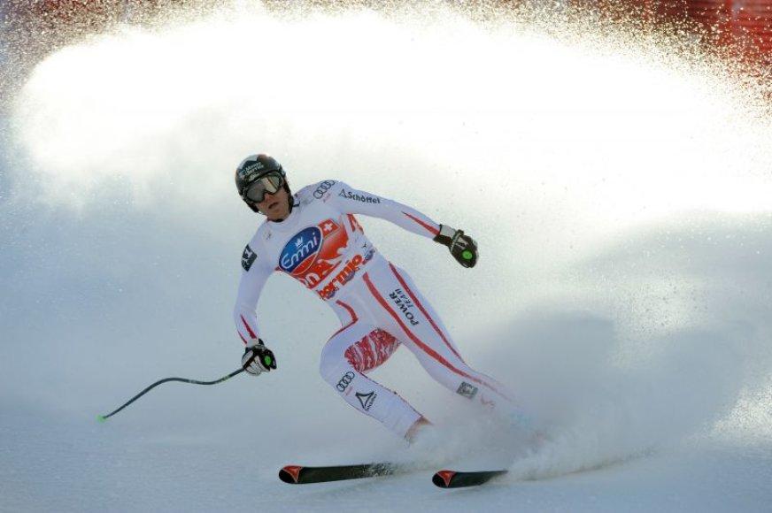 Austrijos kalnų slidininkas Michaelis Walchhoferis