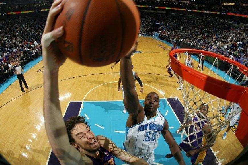 Los Andželo krepšininkai nutraukė nesėkmių seriją