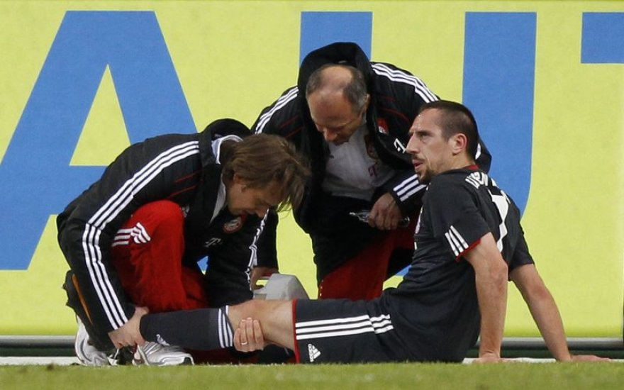 Sunkiai susižeidė F.Ribery