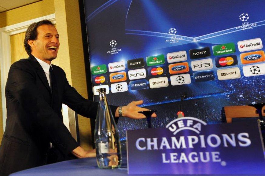 AC Milan treneris Massimiliano Allegri