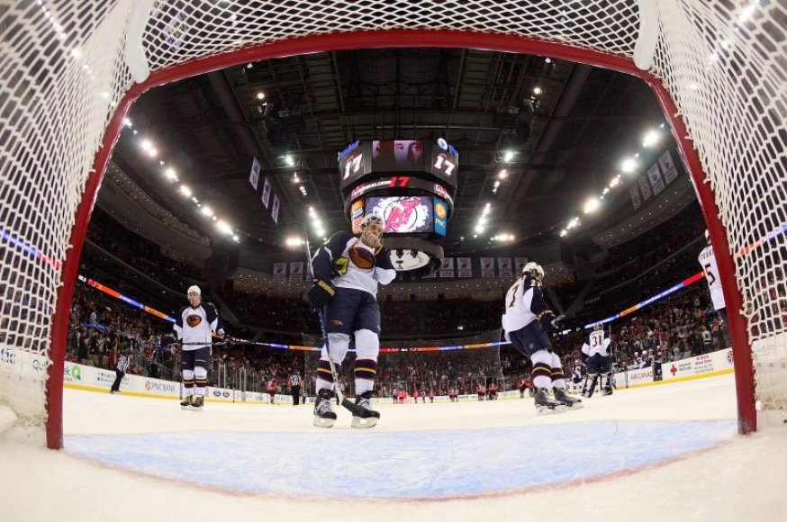 Trečioji iš eilės velnių pergalė NHL.