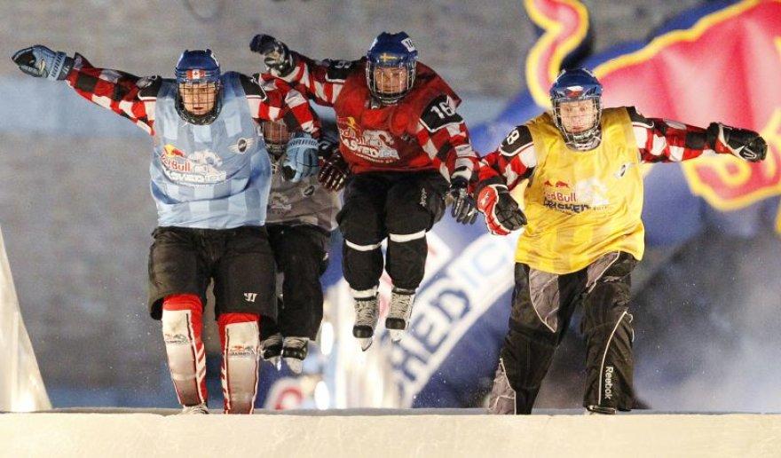 Ekstremalaus greitojo čiuožimo varžybos Kanadoje