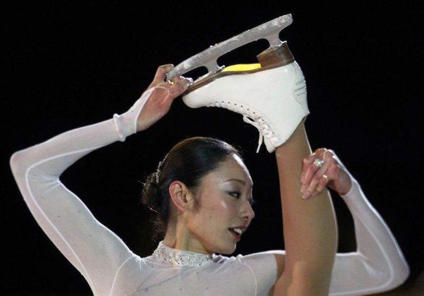 Japonijos čiuožėjai buvo vieni favoritų laimėti medalius savo gimtinėje.
