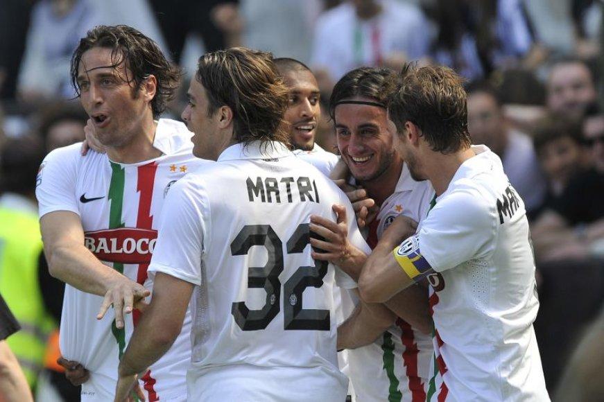Turino futbolininkai namuose pasiekė tik lygiąsias.