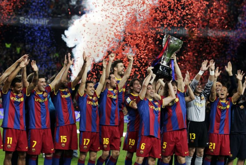 """Barselonos ekipa UEFA Čempionų lygos finale žais su """"Manchester United"""""""