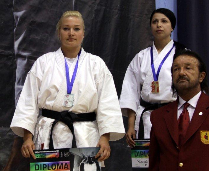 Natalija Artiomova iškovojo sidabro medalį.