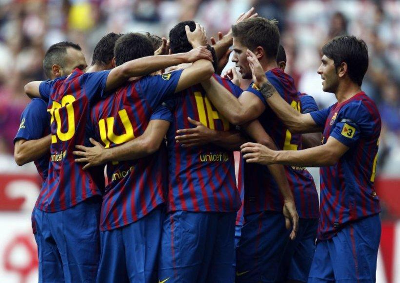 Barselonos futbolininkai pateko į finalą