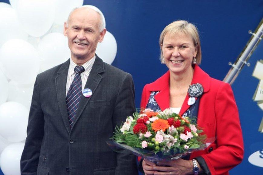 Kazimieras Budrys ir Birutė Statkevičienė