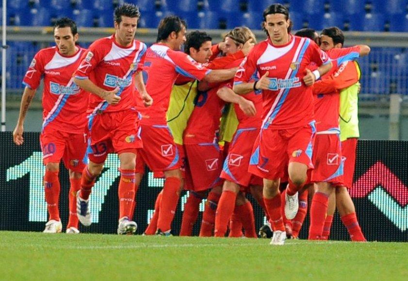 """""""Lazio"""" išsiskyrė taikiai su """"Catania"""" ekipa"""