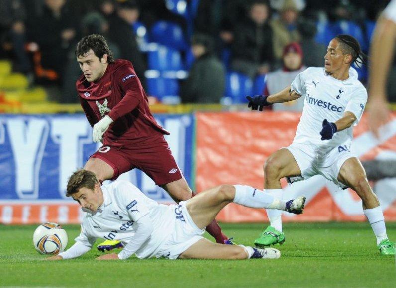 Kazanės futbolininkai iškovojo pergalę minimaliu rezultatu 1:0