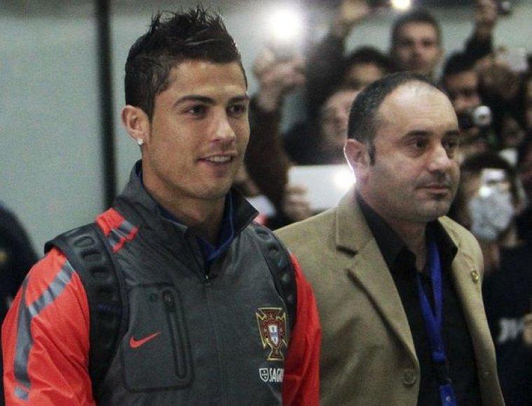 Cristiano Ronaldo Sarajevo oro uoste