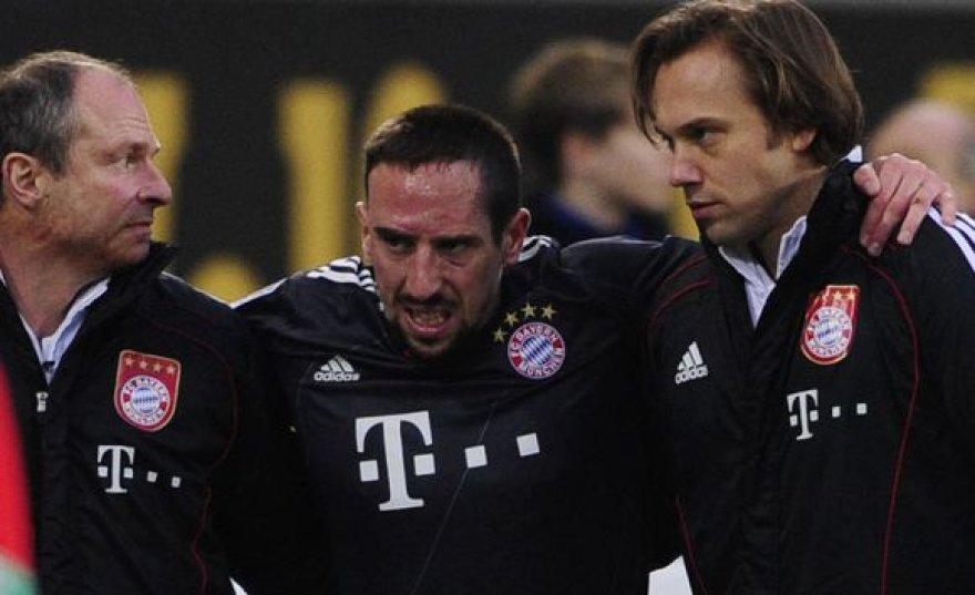 F.Ribery patyrė traumą, tačiau ji nerimta