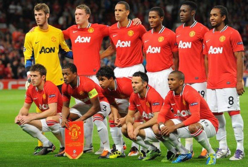 """Čempionų lygoje – netikėtos """"Manchester United"""" lygiosios"""