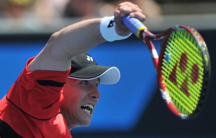 Ričardas Berankis ATP teniso turnyre susitiks su argentiniečiu.