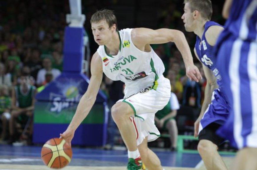 Lietuva su Rusija žais trečiąsias draugiškas rungtynes