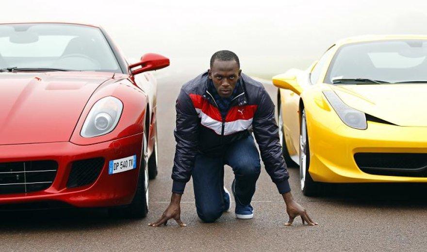 U.Boltas ir jo bandyti automobiliai
