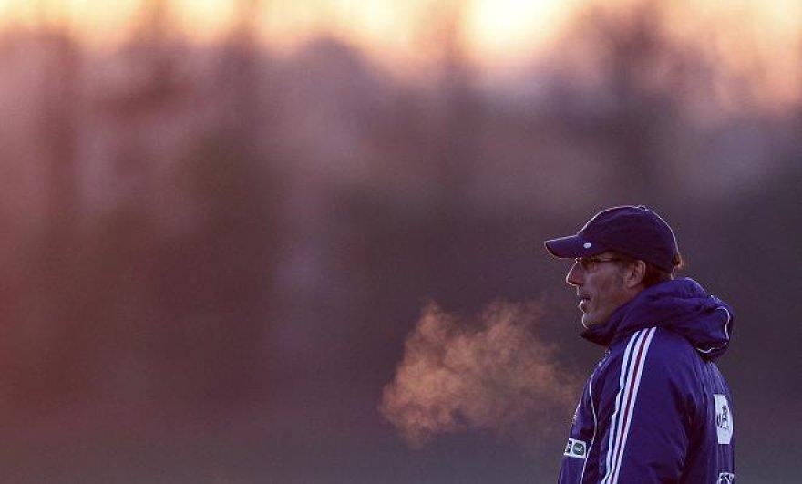 Prancūzų treneris L.Blancas