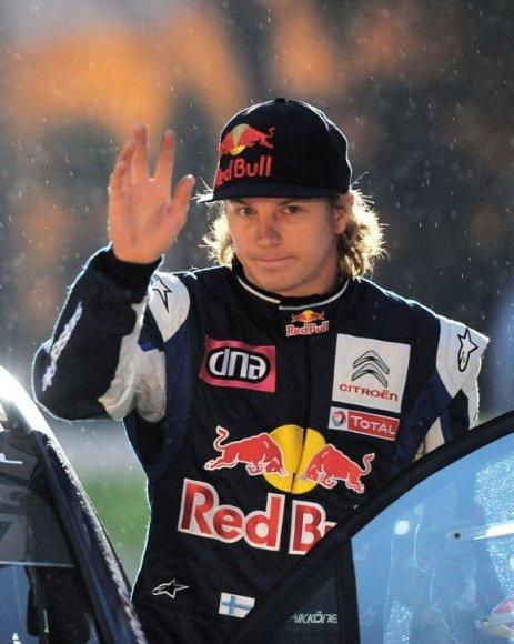 "Kimi Raikkonenas neketina palikti ""Citroen"" ekipos."
