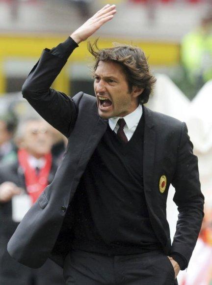 Naujasis treneris Leonardo