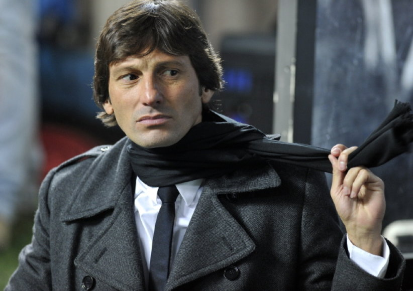 """""""Inter""""  treneris Leonardo."""
