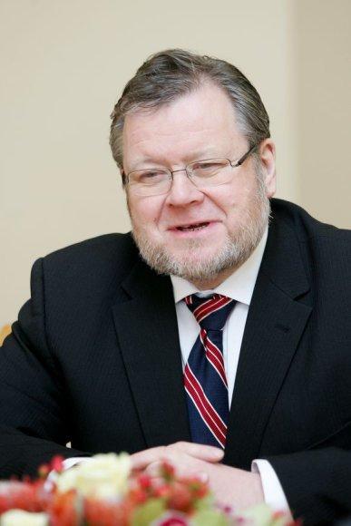 Islandijos užsienio reikalų ministras Ossuras Skarphedinssonas