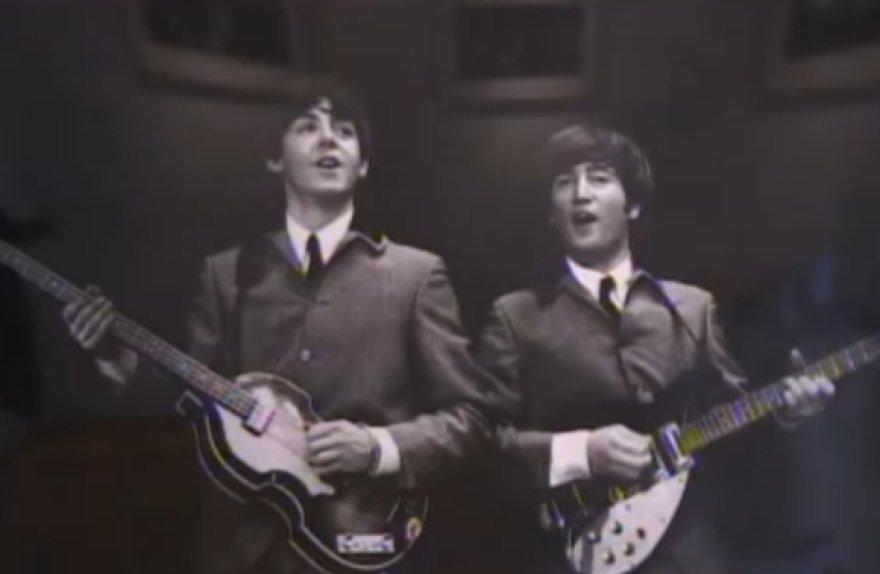 """Parduotos grupės """"The Beatles"""" nuotraukos"""