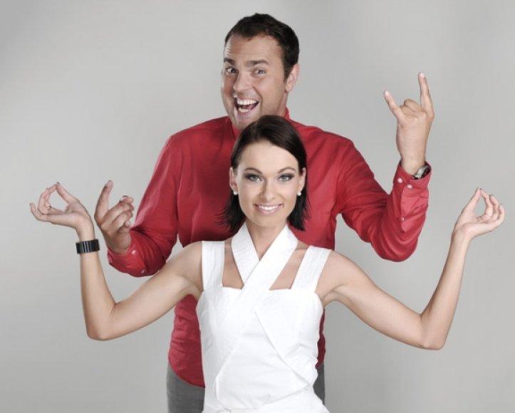 Jogaila Morkūnas ir Ieva Stasiulevičiūtė