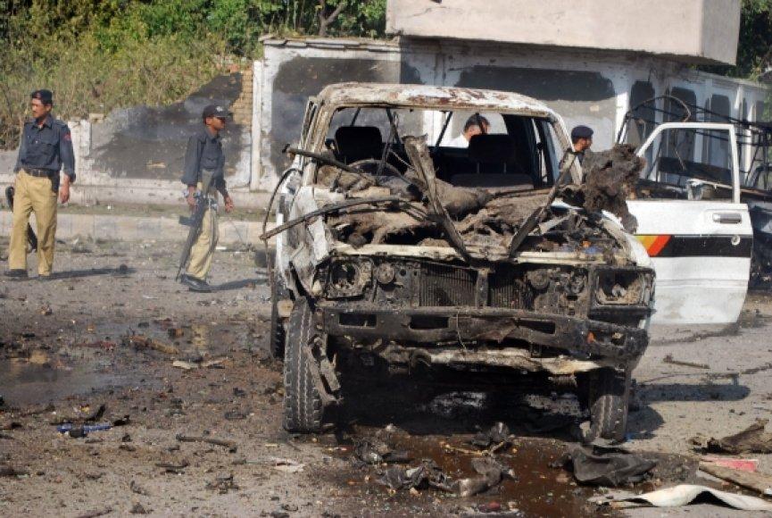 Teroristinis išpuolis Pakistane