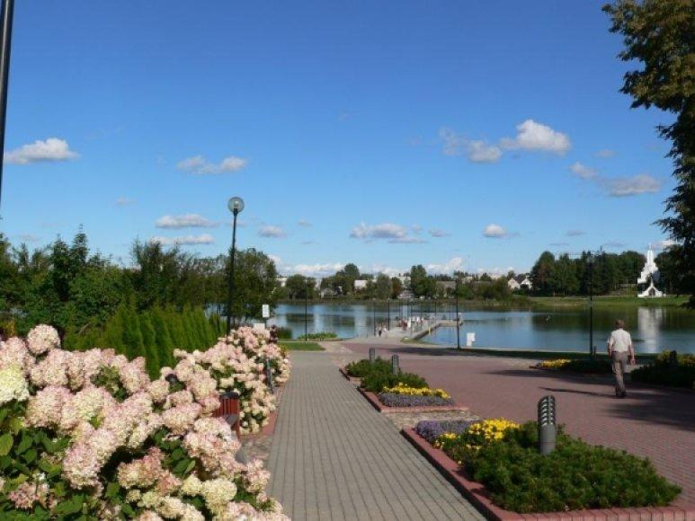 Dauniškio parkas Utenoje