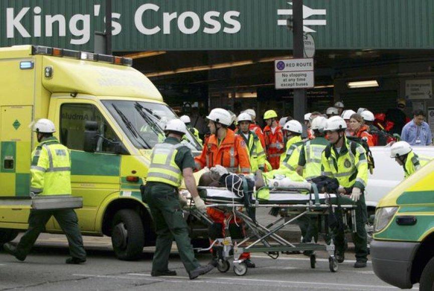 Sprogimas Londone 2005 metais