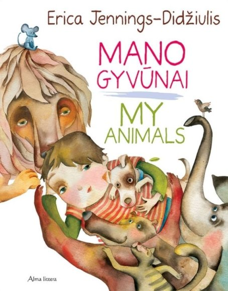 """Ericos Jennings-Didžiulis knyga """"Mano gyvūnai. Myanimals"""""""