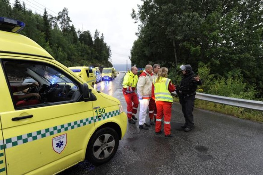 Utojos saloje norvegas šaudė į žmones
