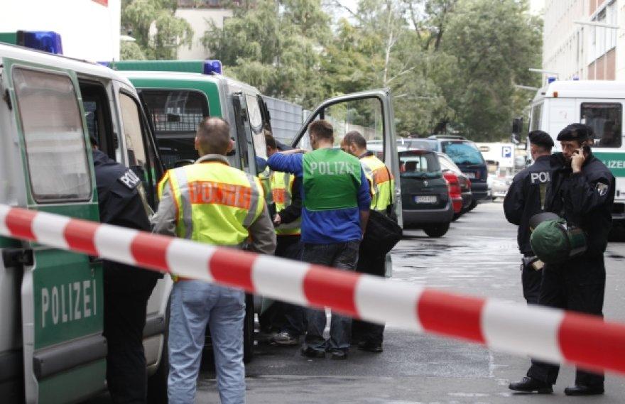 Berlyne sulaikyti teroristai.