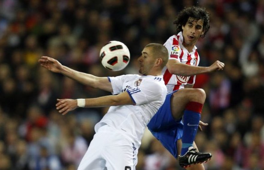 Karimas Benzema (kairėje) ir Thiago