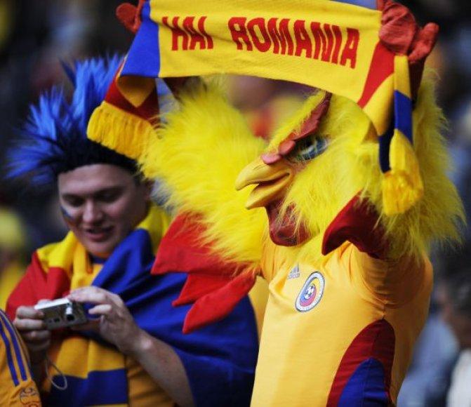 Rumunijos futbolo sirgaliai