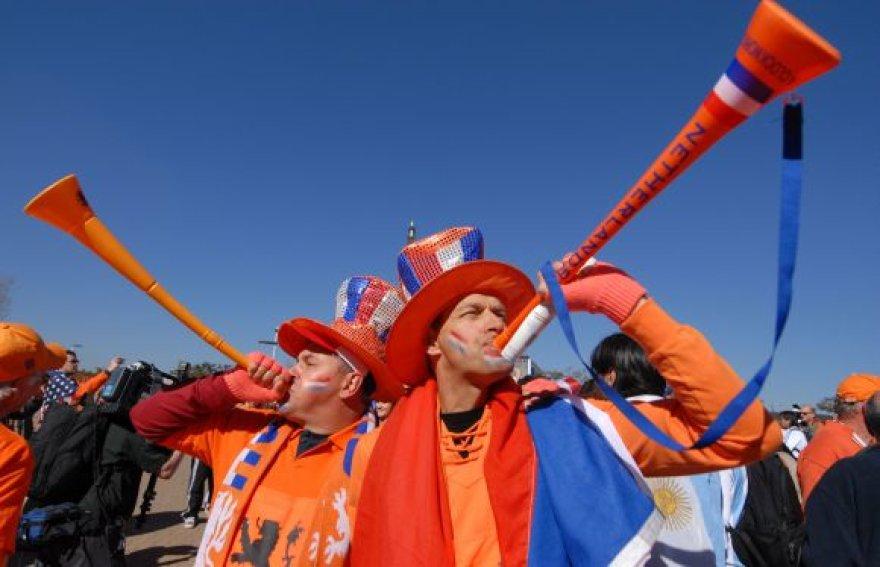 Olandijos futbolo sirgaliai