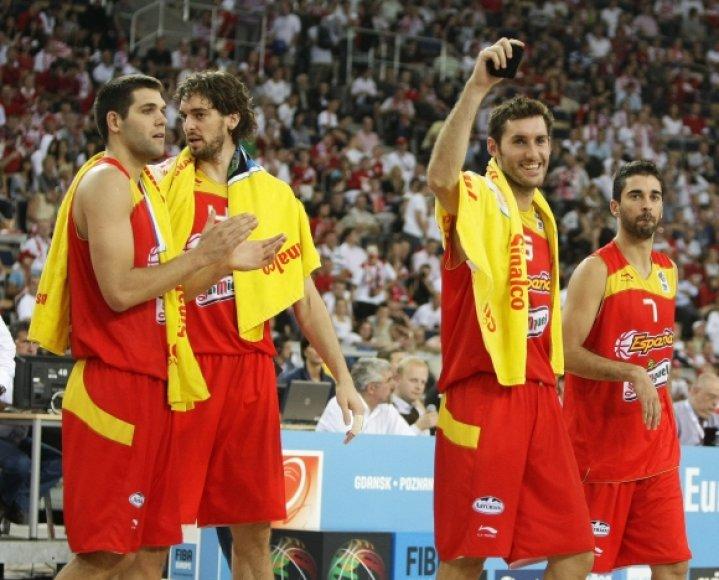 Ispanijos rinktinės krepšininkai