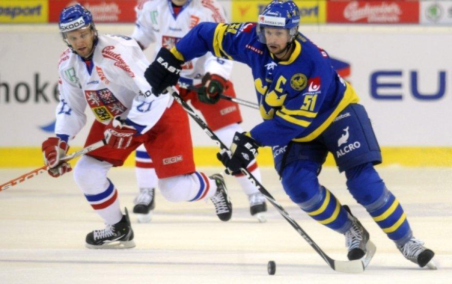 Čekijos ir Švedijos rinktinių susitikimas