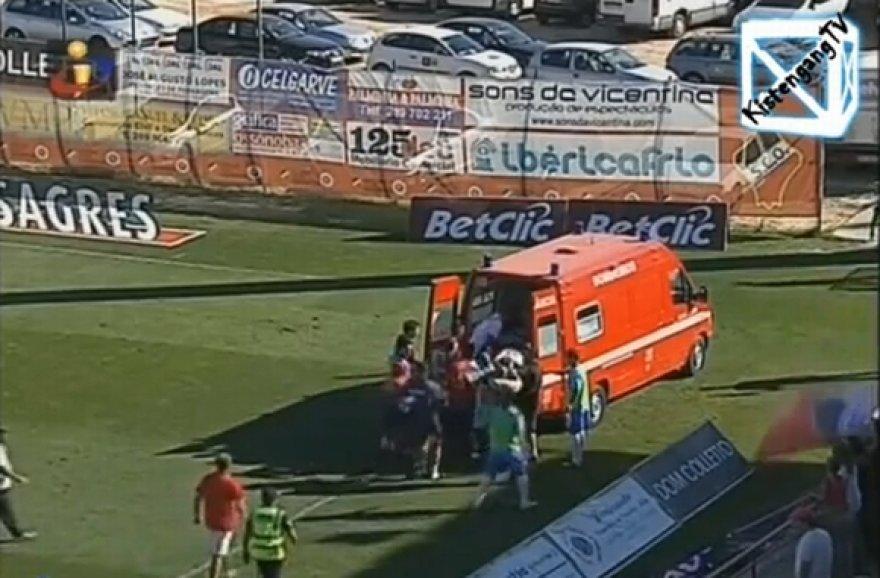Salvadoras Agra buvo išvežtas į ligoninę