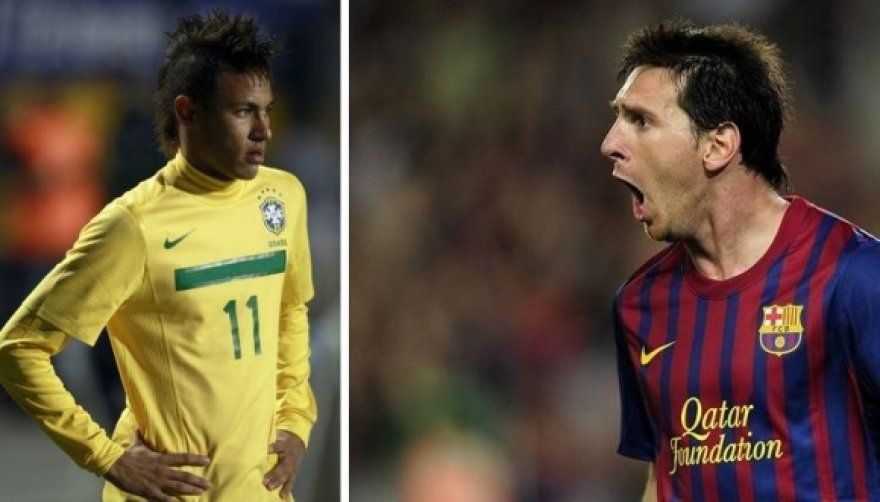 Neymaras ir Lionelis Messi