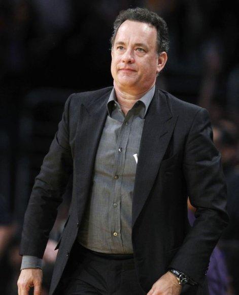 """Aktorius ir režisierius Tomas Hanksas yra aistringas """"Lakers"""" gerbėjas"""