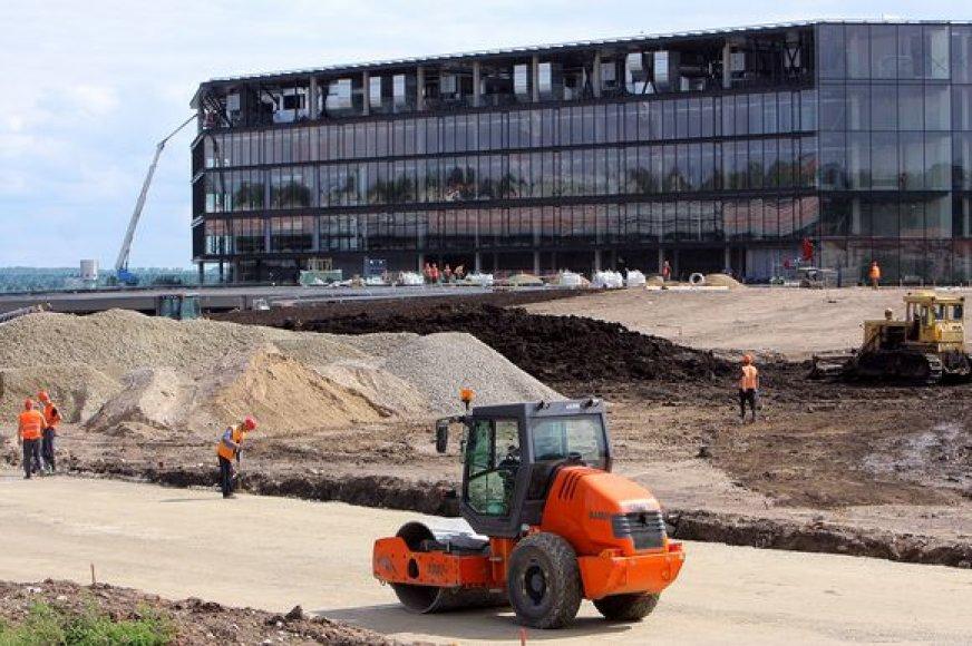 Kauno areną palaimino statybų inspektoriai.