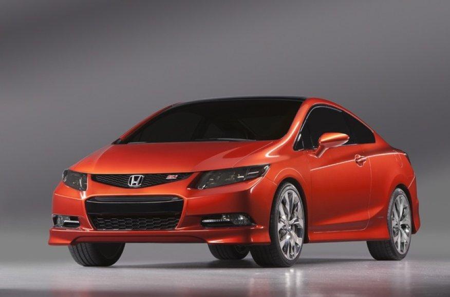 "2012 metų ""Honda Civic Si Coupe"""
