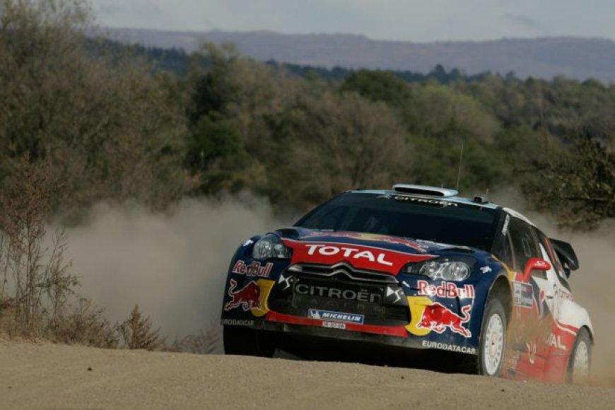 WRC Argentinos ralio akimirka