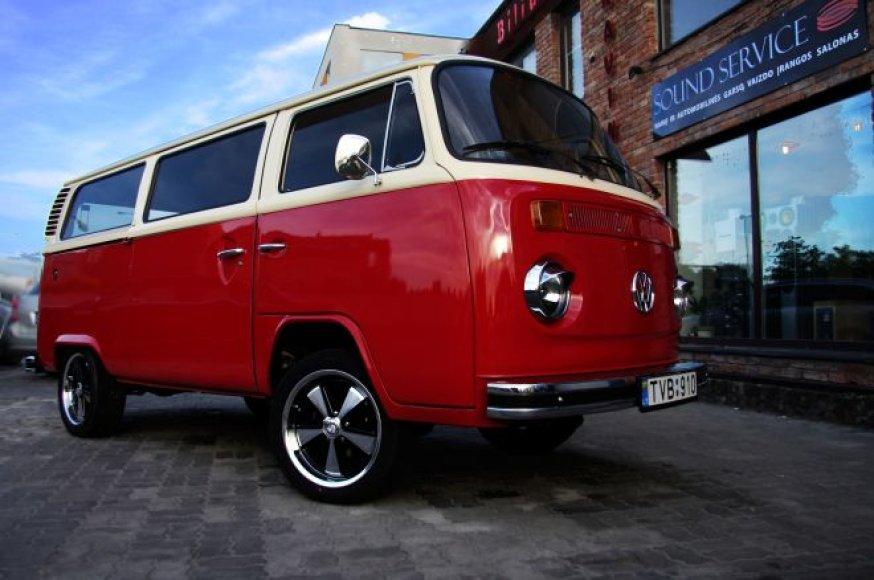 """Restauruotas """"Volkswagen T2"""""""